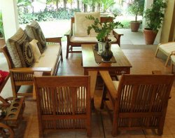 As Already Said, With A Little Care And Maintenance Teak Furniture Will  Gain Very Long Life. Just Use A Bucket, Liquid Or Mild Soap, White Vinegar,  Sponge, ...