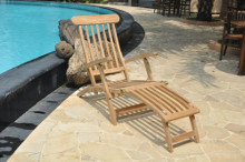 teak patio steamer